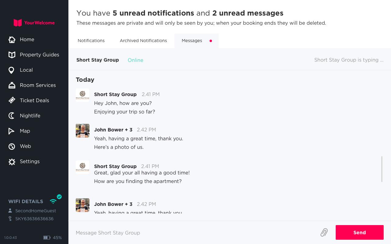 Guest Messaging